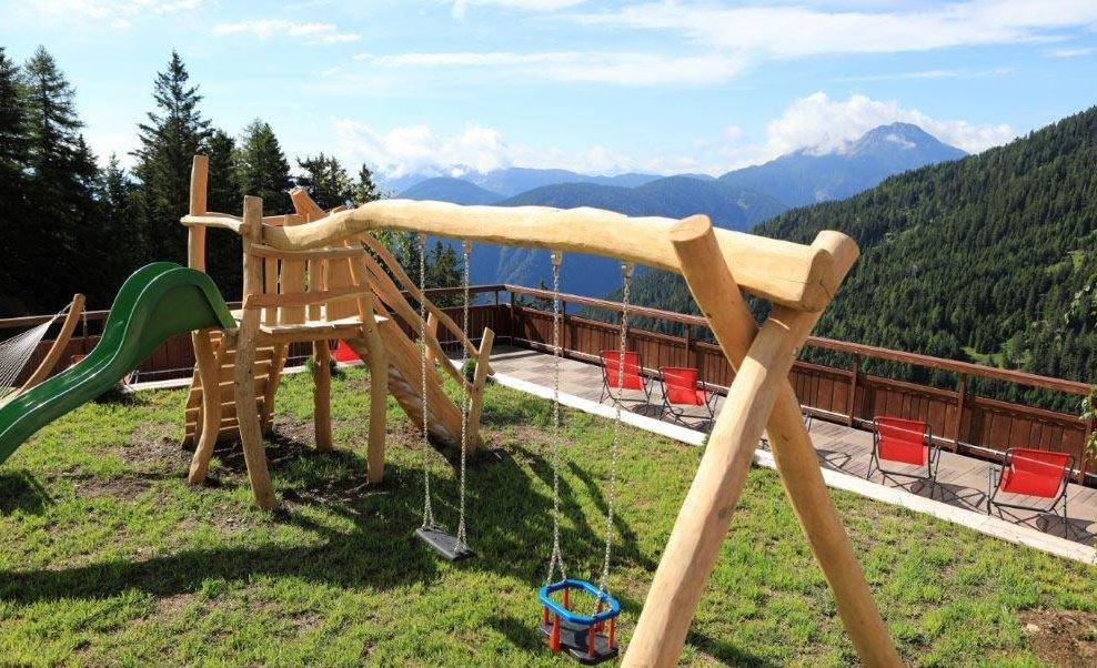 Malga per famiglie GAMPL: parco giochi